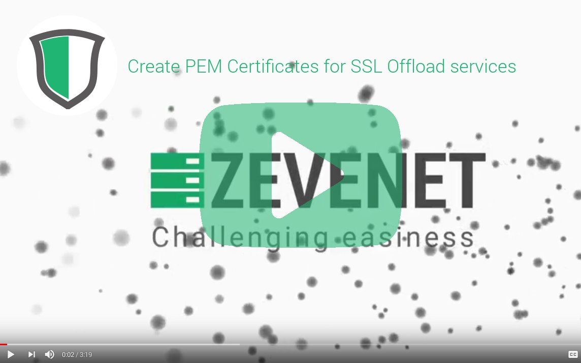 Zevenet on twitter new video tutorial posted create ssl 1113 am 26 sep 2017 xflitez Gallery