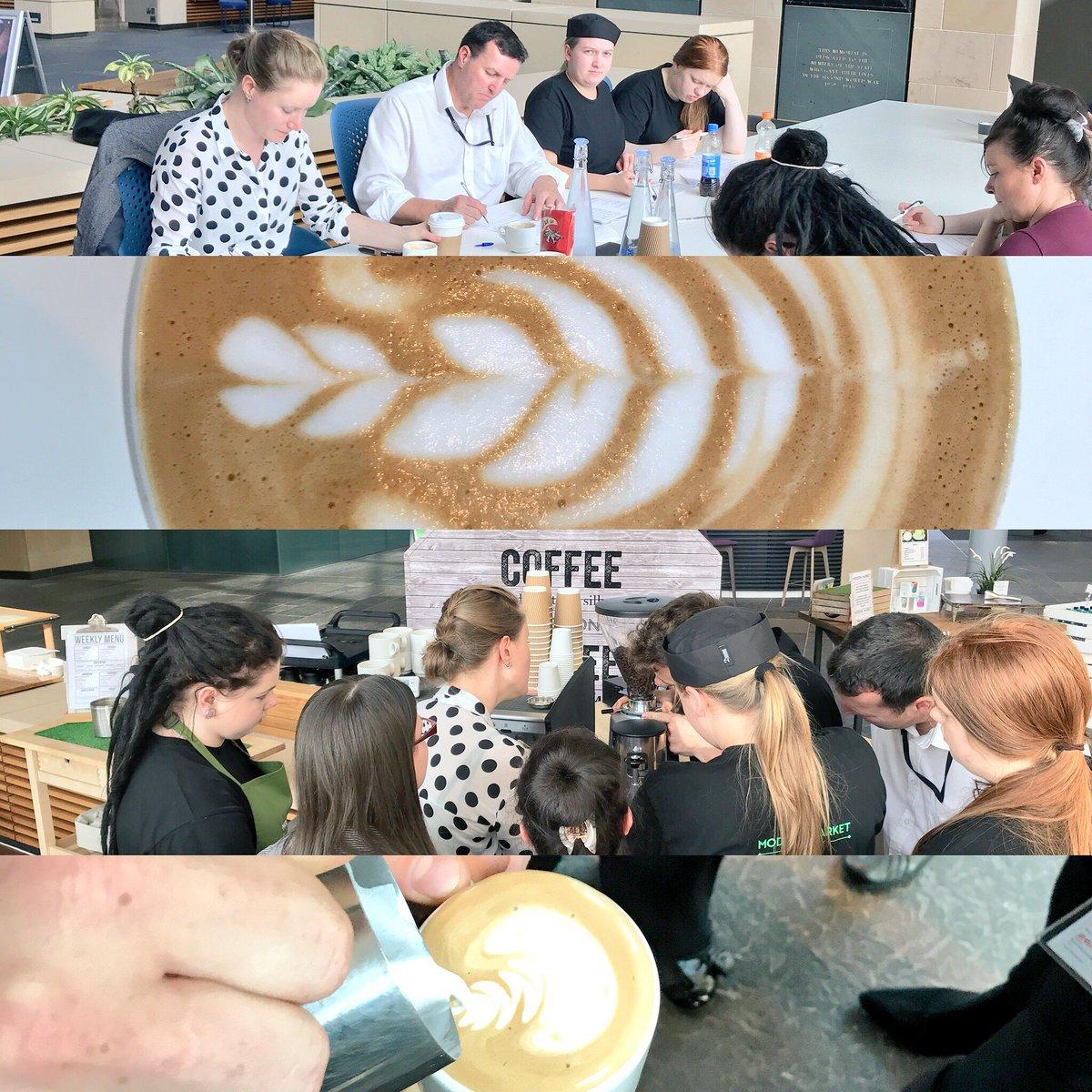 Barista skills foundation up north! #BL1 #Edinburgh #beanlearning<br>http://pic.twitter.com/b5FmmNo5Ow