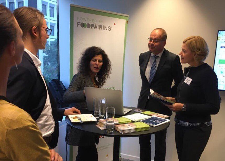Inspiring examples of success stories of ideas growing into businesses at the @EITeu House #innovations #research <br>http://pic.twitter.com/1mIzOoShHL
