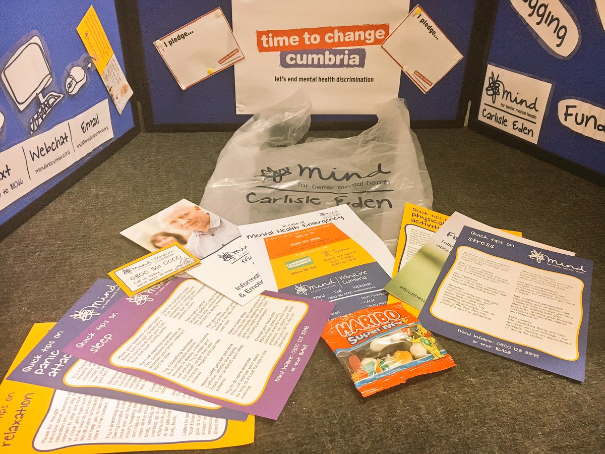 We&#39;re all set for @CumbriaUni #freshers2017 tomorrow in #carlisle! Get your #mentalhealth survival kit &amp; have a chat while you&#39;re at it! <br>http://pic.twitter.com/vkjjfQKnj3
