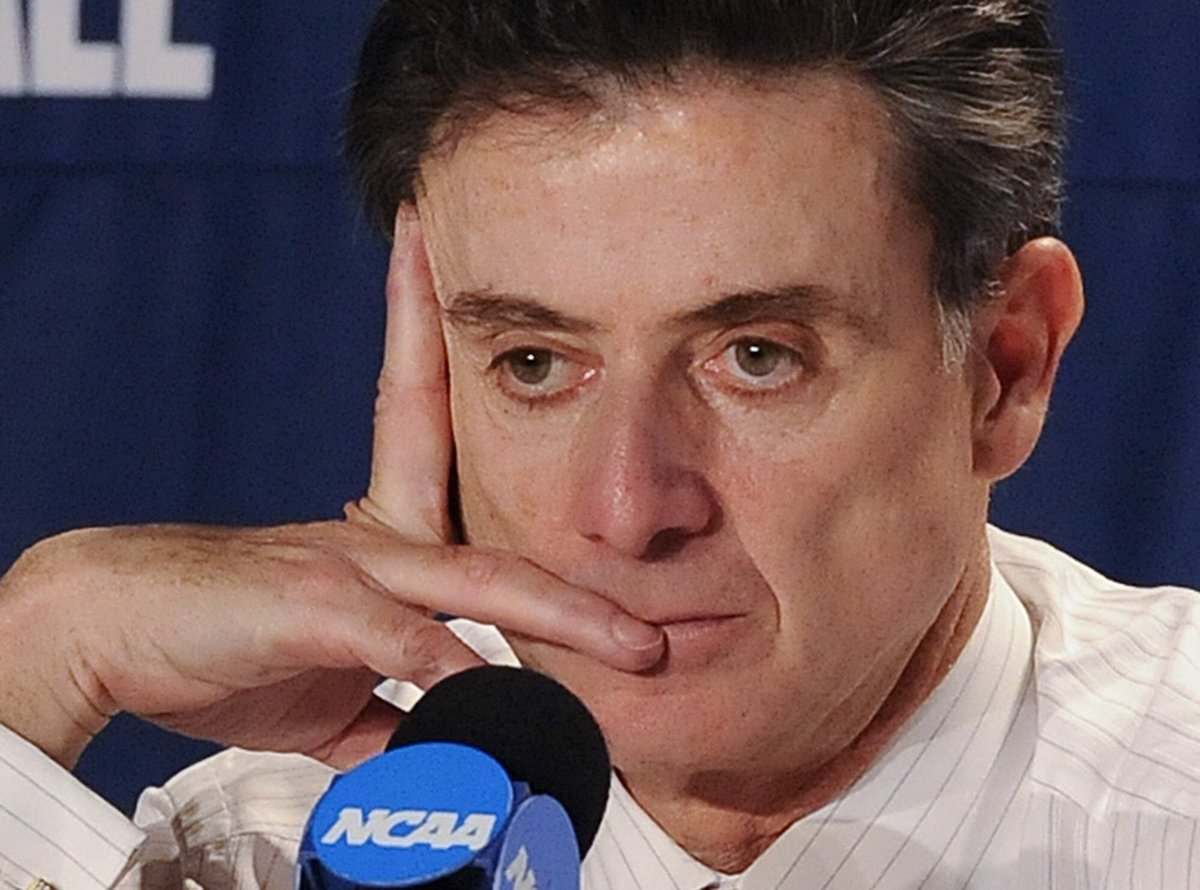 I needed a synonym for the word &#39;Charlatan&#39;. My computer generated &#39;#Pitino&#39;. #100KBribe #Cheat <br>http://pic.twitter.com/u9JQM0lzP4