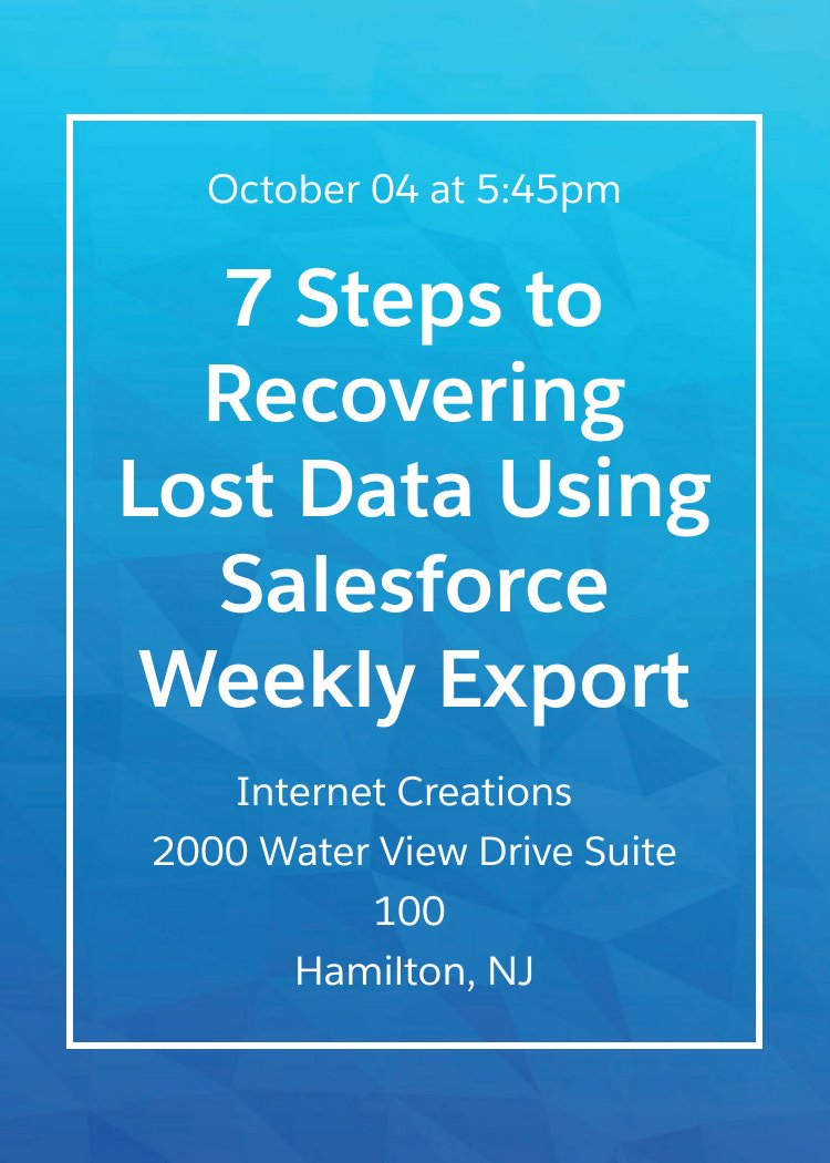 Ready to connect with other #Salesforce Users? Join @OwnBackup and IC at the next event on 10/4  http:// okt.to/0EFJK1  &nbsp;   <br>http://pic.twitter.com/WxTs0yUcZI