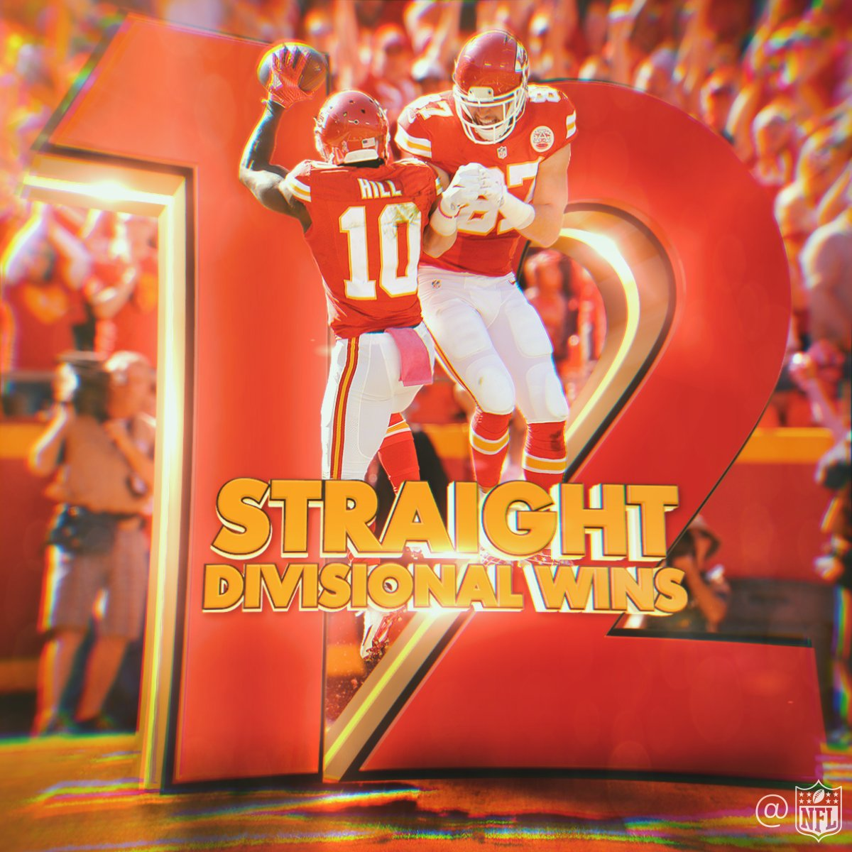 The @Chiefs haven't lost to an AFC West opponent since Week 2... of 2015! �� https://t.co/bFjENS3fpN