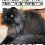 #Whistleblowers are heroes!  Read the news here: https://t.co/8Du4kKUc4L  #ChelseaManning #Wikileaks #JulianAssange #TeslaTheCat #Cats