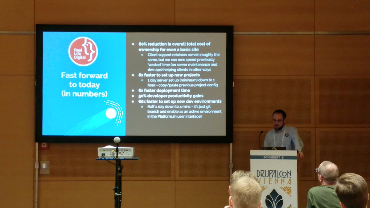 Amazing results with transforming #DevOps to NoOps by @RLDtweets #DrupalCon<br>http://pic.twitter.com/fj7V2nw8tU