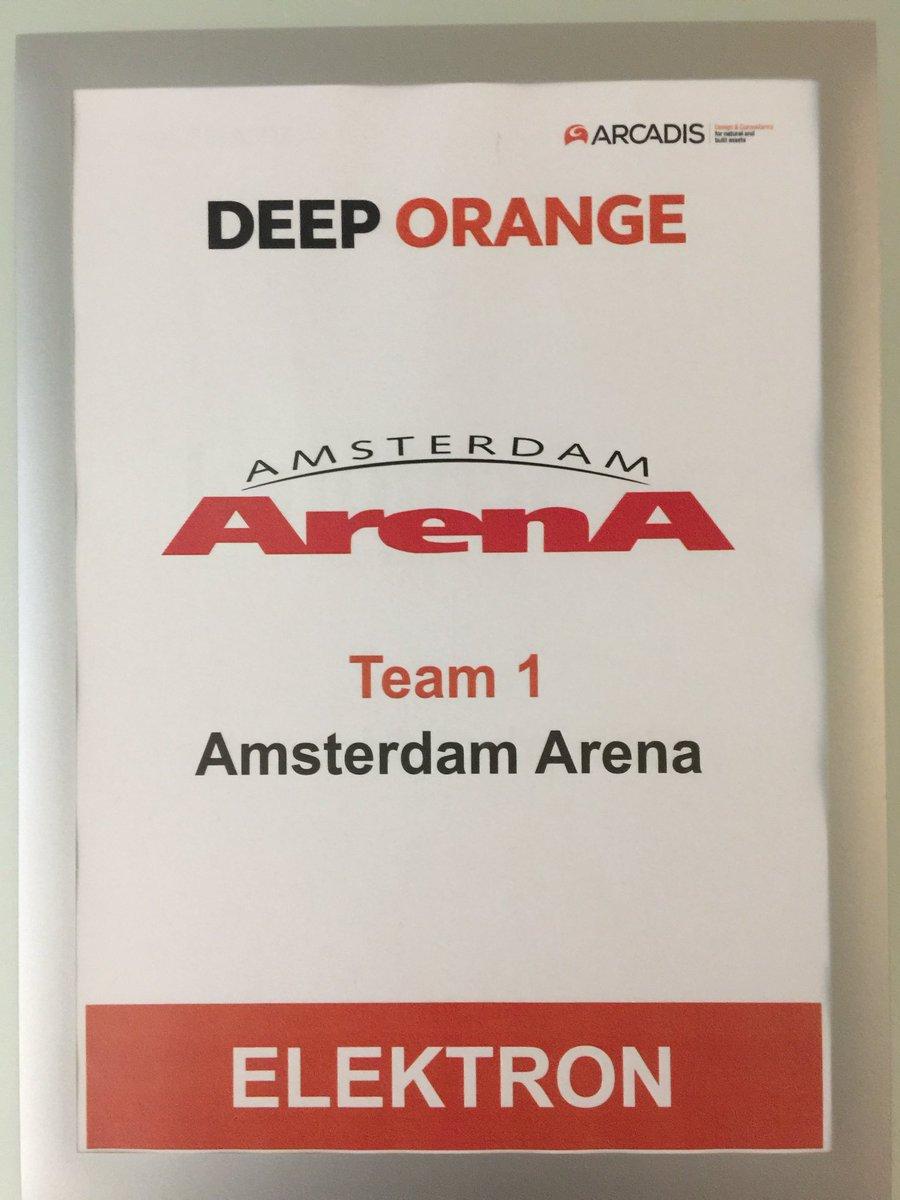#deeporange In #Eindhoven working with @AmsterdamArenA @ArcadisGlobal<br>http://pic.twitter.com/L25Q3GguZS