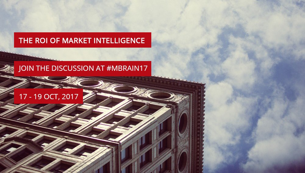 Should the #ROI of Intelligence be measured? Join the discussion at #MBrain17!  https://www. m-brain.com/conference/  &nbsp;  <br>http://pic.twitter.com/ckfbHx3Le4