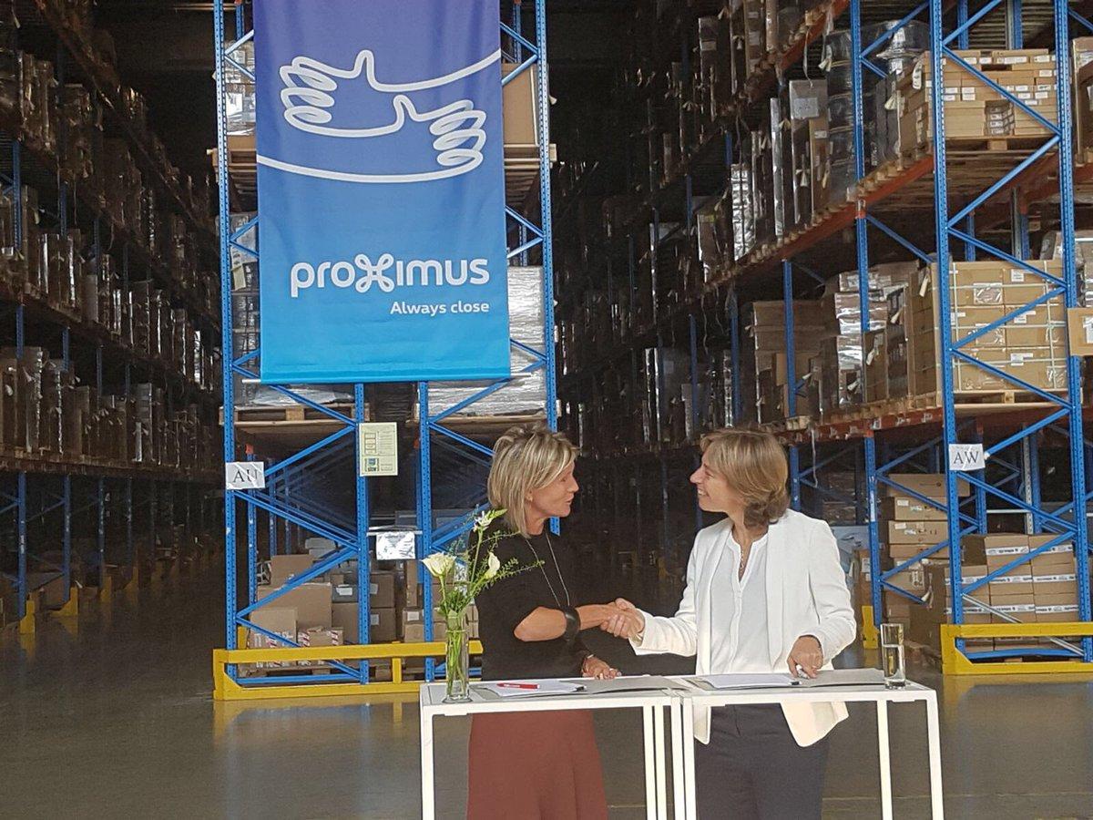 Nele Van Malderen On Twitter Proximus Extends Its Warehouse