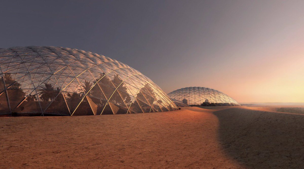 During the Annual #UAE Government Meetings, #UAE has revealed new AED 500 million project to build a city that simulates life on Mars <br>http://pic.twitter.com/QBu5CK87YU