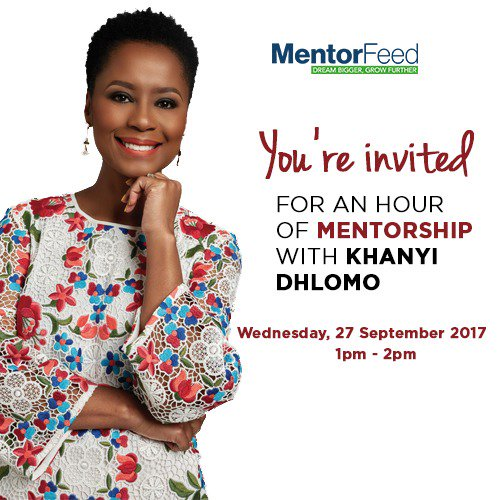 Join us for an hour-long Live Chat with .@khanyidhlomo tomorrow 1pm. Looking forward to your #career questions  http:// ow.ly/kUMr30fqTG4  &nbsp;   <br>http://pic.twitter.com/uOhPt3okrK