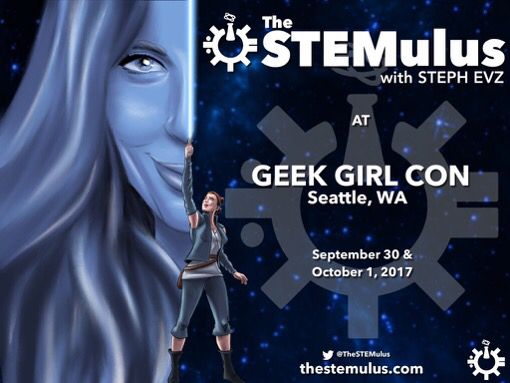 THIS WEEKEND! The STEMulus will be at GeekGirlCon! Come say hi! #GGC17 #STEM #SciComm   Get your passes here:  https:// buff.ly/2xCaRIJ  &nbsp;  <br>http://pic.twitter.com/htfFdeSI2P