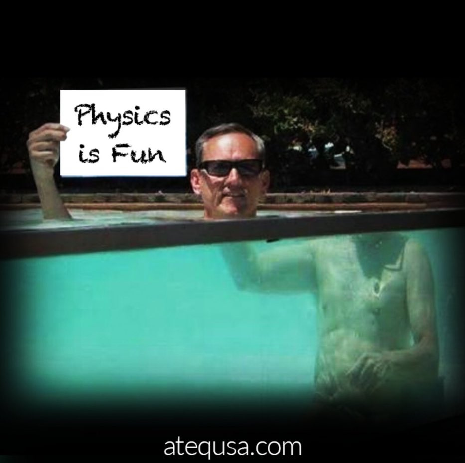 Light coming from the underwater part of his body #Refracts as it goes from #Water to #Air #SnellsLaw #refraction #theta #science #physics<br>http://pic.twitter.com/hIK7w6HHAA
