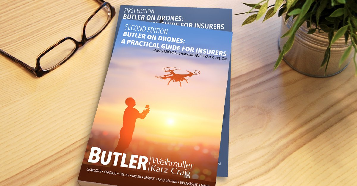 Butler on Drones (Second Edition): A Practical Guide for Insurers is now available! Request your copy here:  https:// goo.gl/w9y2ZC  &nbsp;   #Drones <br>http://pic.twitter.com/5E3TgyxXcP