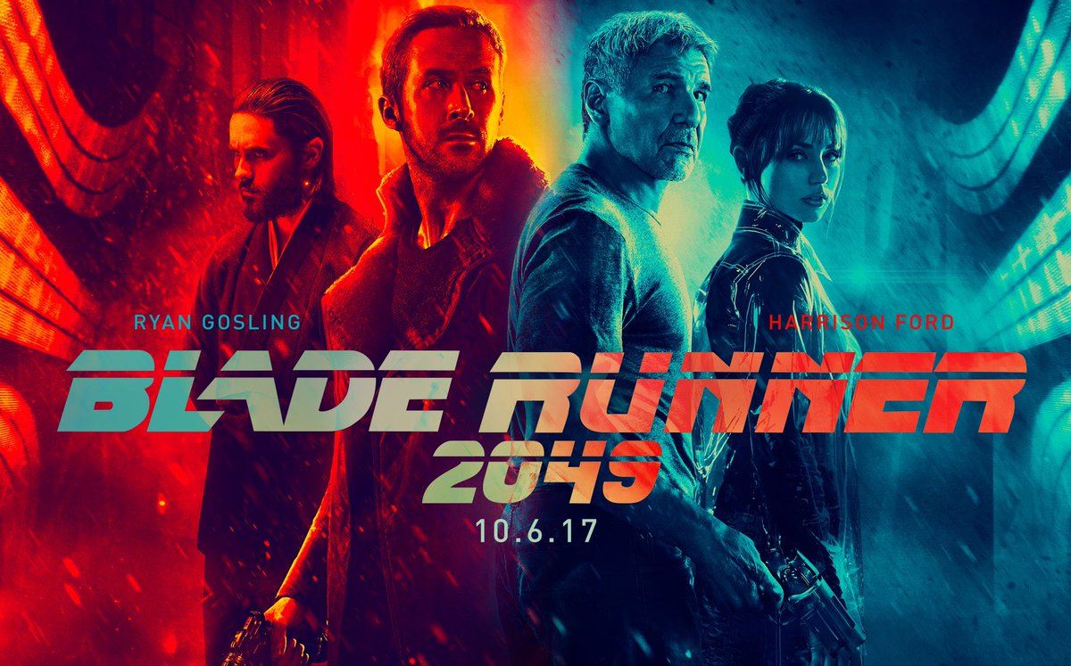 """Our own @JimmytotheO calls @bladerunner """"Astonishing... More than just a visual wonder, it's a groundbreaking science fiction masterpiece."""" https://t.co/ulDJYJzMqT"""