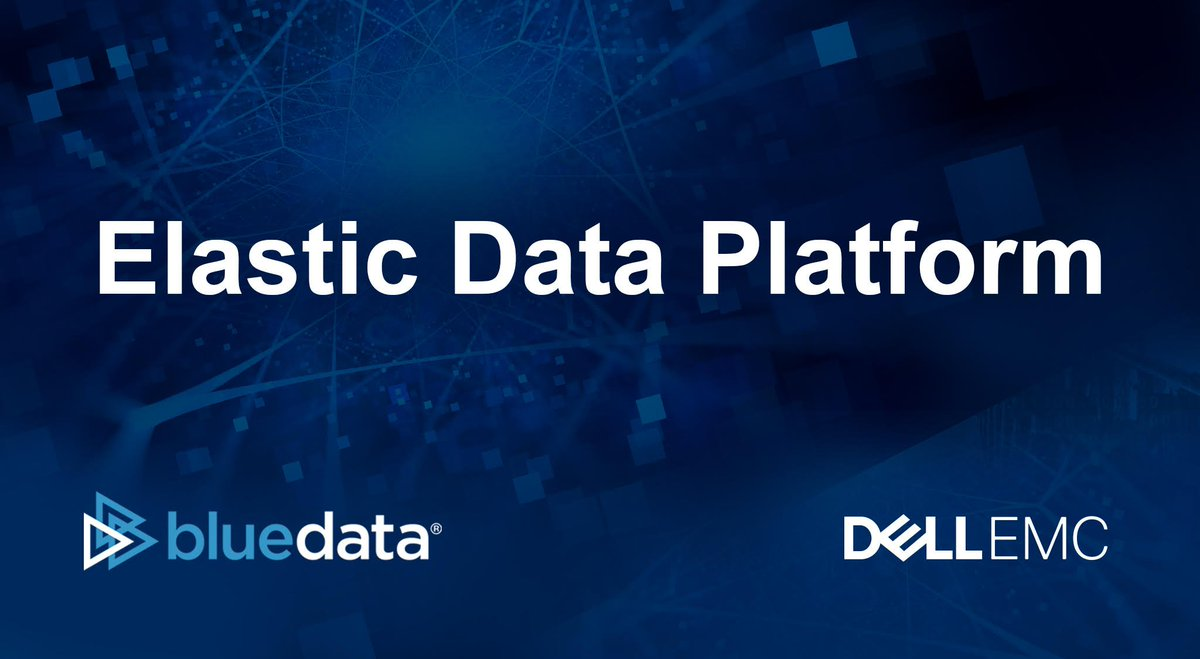 Dell EMC selects BlueData to power its new Elastic Data Platform for #BigData-as-a-Service:  http:// bit.ly/2wiTclU  &nbsp;   #stratadata<br>http://pic.twitter.com/QDOc0cQ3gH