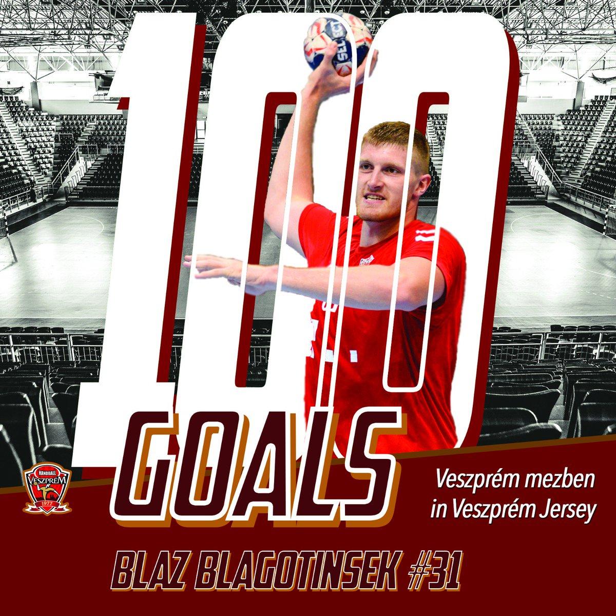 @blagi03 scored his 100th goal in Veszprém jersey! Congratulations! https://t.co/EmeNLXE2cB