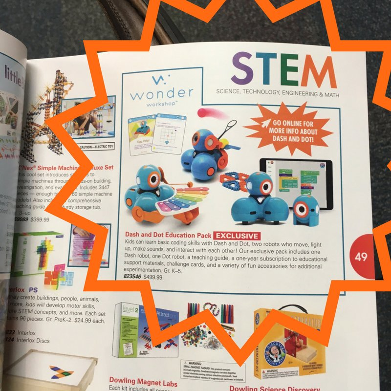 #Teachers! New this #schoolyear, you now can use your @Scholastic dollars to purchase #dashanddot! #coding #robotics #csk8 #STEM #edchat<br>http://pic.twitter.com/9EN1VcAtqG
