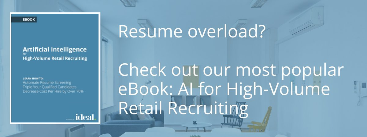 High-volume hiring? Let AI do the dirty work. Learn how with our most popular eBook:  http:// bit.ly/2w7X0Xo  &nbsp;   #HRtech #hiring #AI<br>http://pic.twitter.com/SeFFaYPrRu