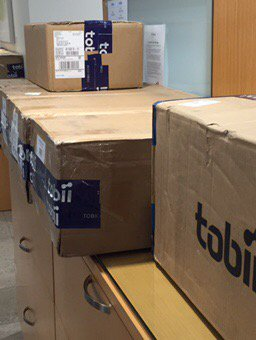 More equipment to collect eye tracking data has arrived in ACT Research!   #ACTInsights #ACT <br>http://pic.twitter.com/h2tf6IrAkL