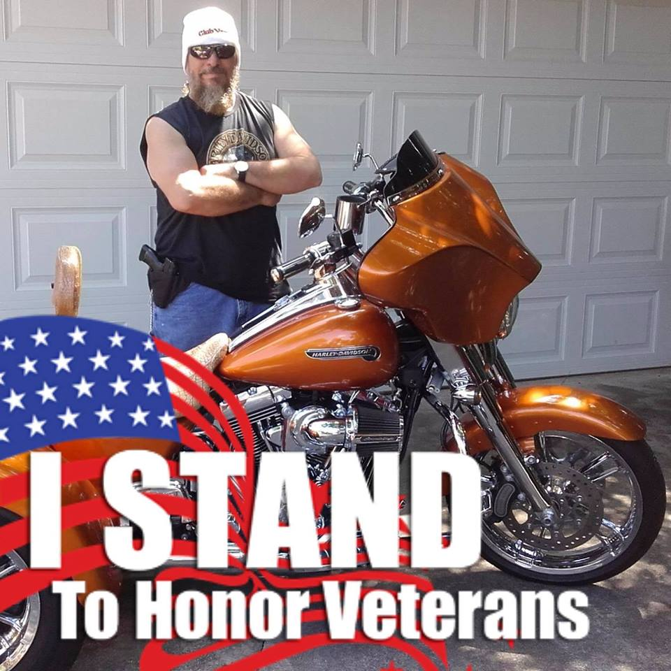 #IStand to #honor #Veterans the #Flag and Our #NationalAnthem #GodBlessAmerica<br>http://pic.twitter.com/otQdwKX27n