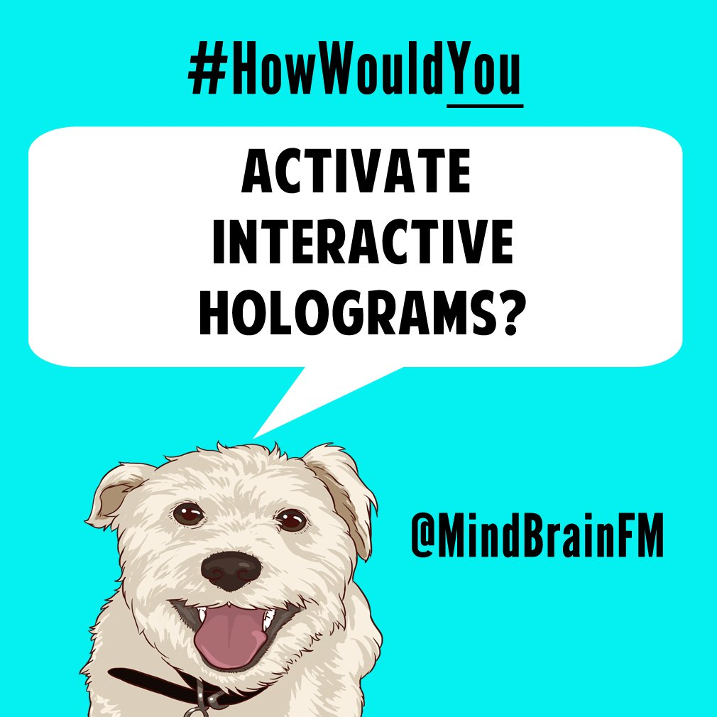 #HowWouldYou activate interactive holograms? #innovation #imagination<br>http://pic.twitter.com/BSEbXRW5lQ