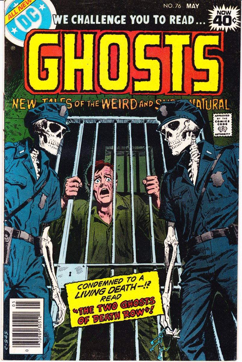 #TuesdayTrivia 35 Days til #Halloween! #Ghosts 76 VF+  http:// etsy.me/2xy2Suj  &nbsp;   1979 #Skeletons #Horror #Police #Halloween2017 #Skull #Comics<br>http://pic.twitter.com/Sdcv3Ul2s1