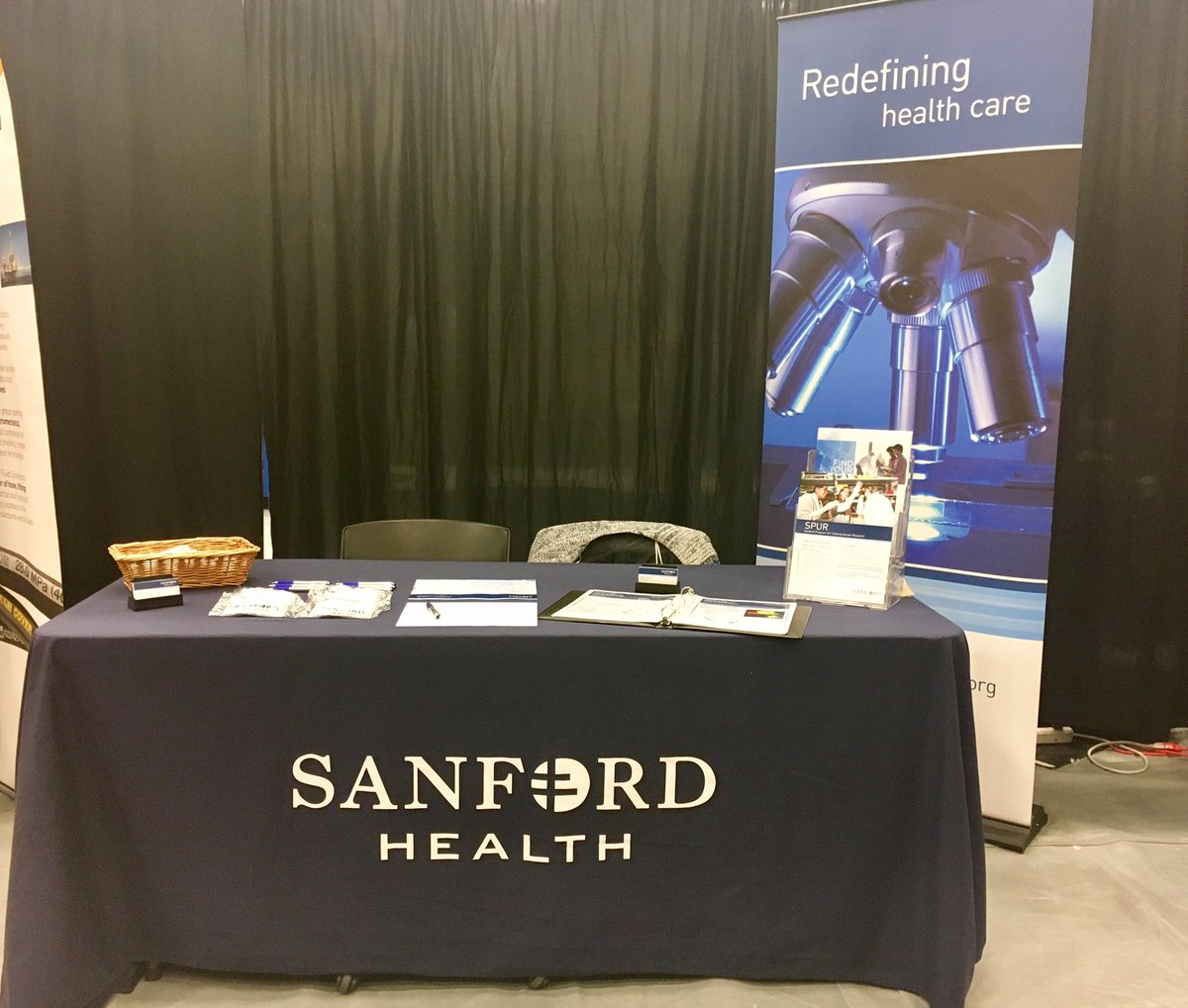 Come visit us @sdsmt today from 11:00-4:00! #SanfordHealth #hiring #internships #careers<br>http://pic.twitter.com/RpjTEGiUJb