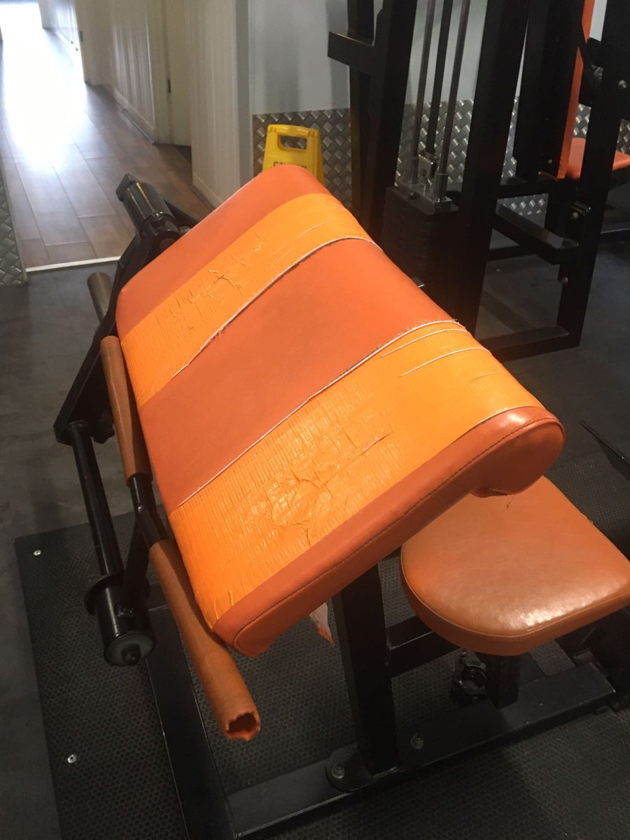 Gym upholstery