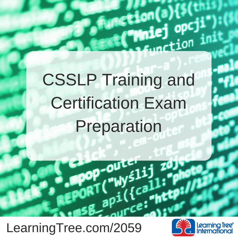 Learning Tree Intl On Twitter Get Csslp Certified Learning