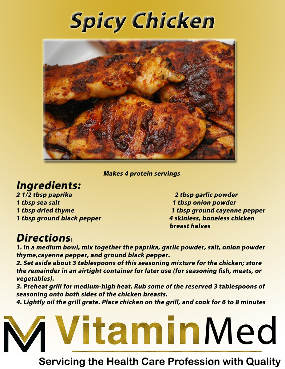 Vitaminmed on twitter very tasty hot meal from our excellent vitaminmed on twitter very tasty hot meal from our excellent recipe book can never go wrong with spicy chickenalso makes 4 protein servings forumfinder Images