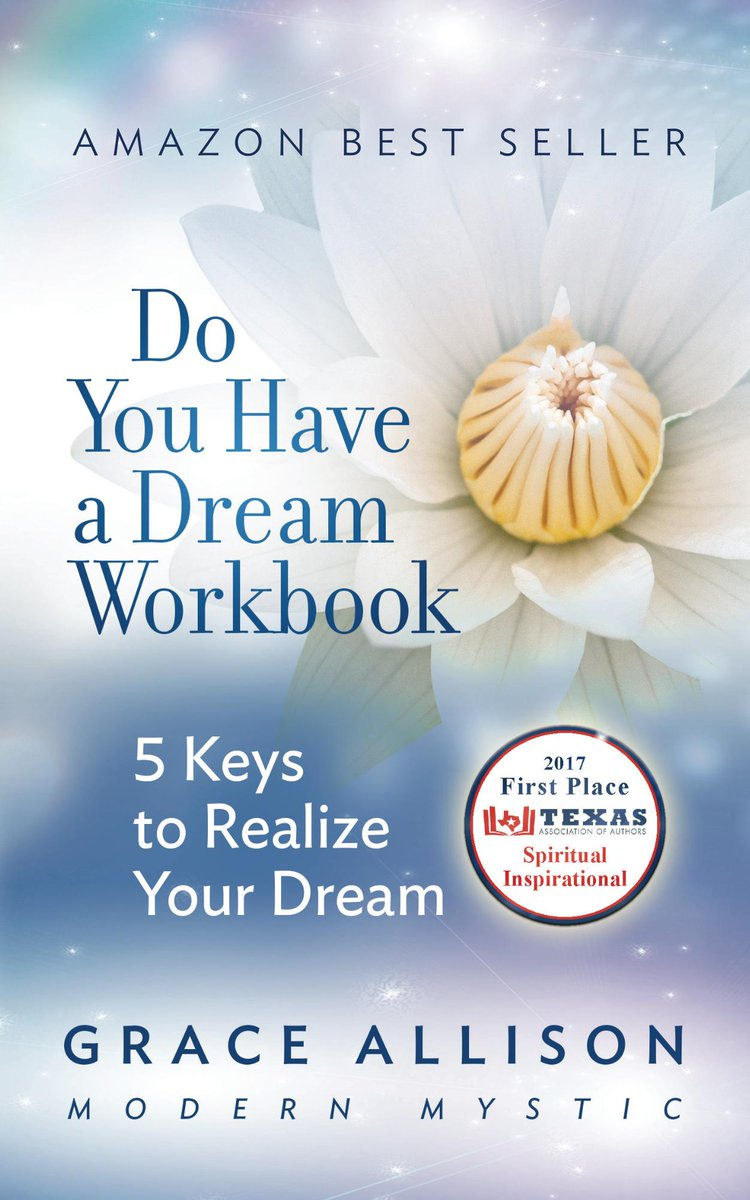 creativity? Do You Have a Dream Workbook 5 Keys to Realize Your Dream a #spiritual #manual of how to use God&#39;s light  http://www. gracethemystic.com  &nbsp;  <br>http://pic.twitter.com/XwWDvumudB