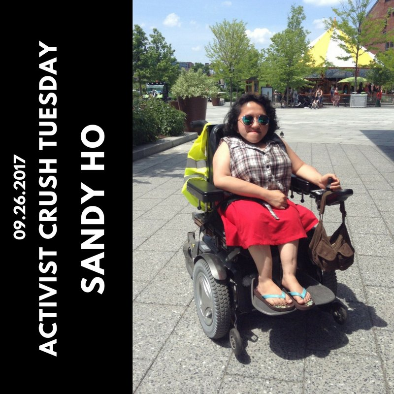 #ACTIVISTCRUSHTUESDAY: SANDY HO  WHERE TO FIND HER: @INTERSECTEDCRIP  #ACT #RESIST THREAD: 1/4<br>http://pic.twitter.com/5MVXA8APoW