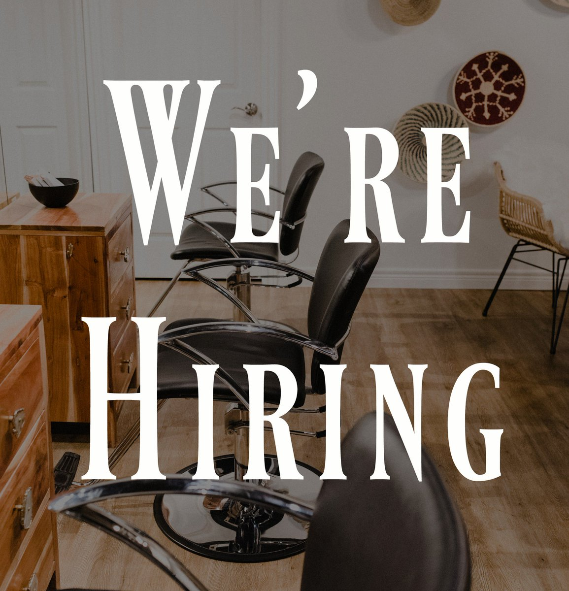 we are in search of a hair stylist salon assistant know someone submit resumecover letter to reneesalonwispcom burlon hairsalonpictwittercom - Salon Assistant