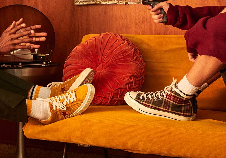 c4b5da24596e19 A AP Nast and Converse reveal collab featuring corduroy One Star and plaid  Chuck Taylor ...
