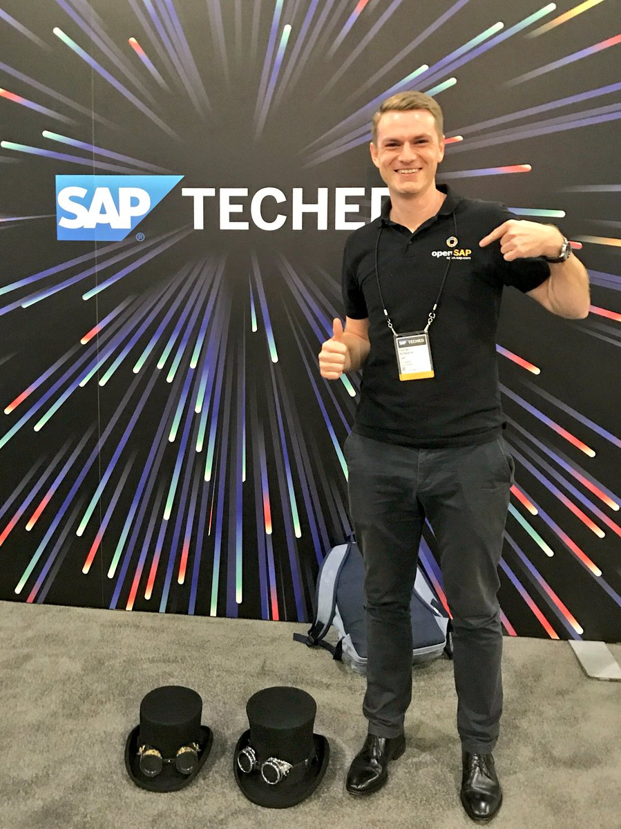 It is on! Meet @openSAP at the showfloor or the @SAPNextGen Clubhouse to learn about free of charge digital #learning. #SAPTechEd<br>http://pic.twitter.com/apZFcHYj2U