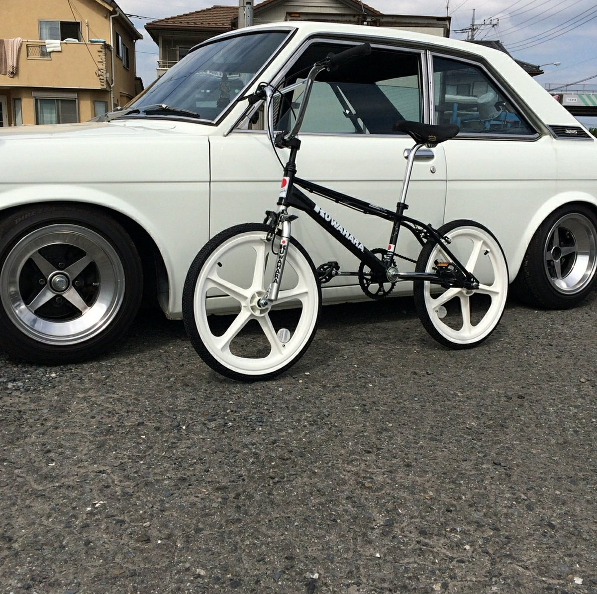 "outsiders bmx on twitter: ""@gogokh510 with his datsun 510 & kuwahara"
