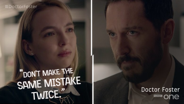 Mistakes are meant for learning. Not repeating.  #DoctorFoster https://t.co/gduJNn0jXf