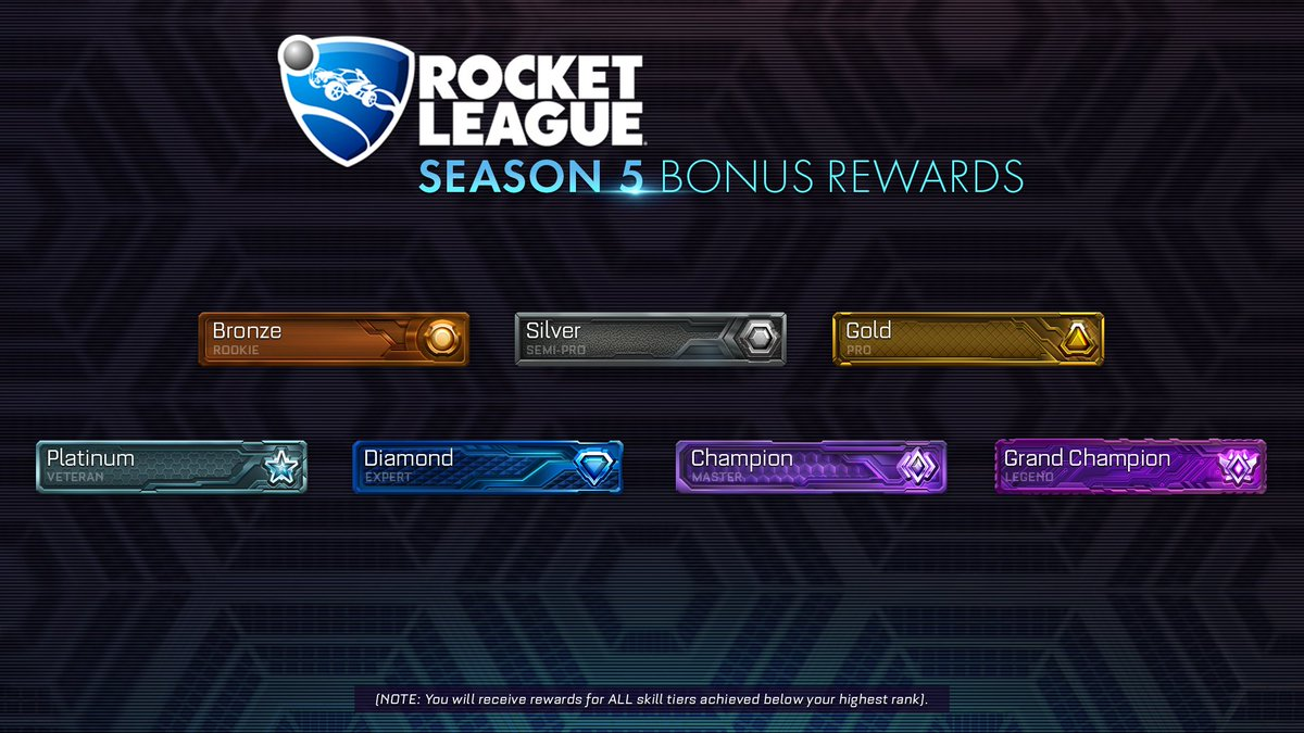 "Rocket League on Twitter: ""A second BONUS set of Season ..."