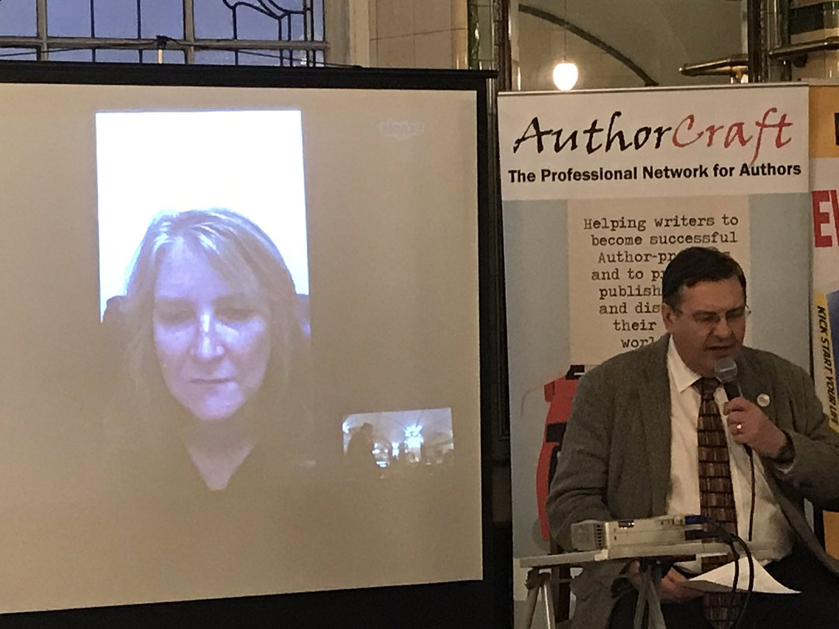 Editor-at-large @ShellGent of @GingernutBooks joins us live from #Nottingham to reveal how to make money from #blogging as an #author.<br>http://pic.twitter.com/8HwcRMGTAW