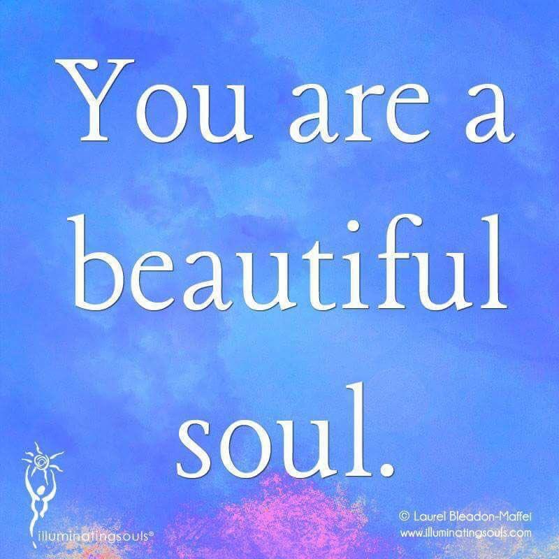 You are a #beautiful #soul   Via @cherylcorless41  #InspireThemRetweetTuesday #ThinkBIGSundayWithMarsha #IQRTG #TuesdayThoughts #JoyTrain <br>http://pic.twitter.com/gIyYasLCep