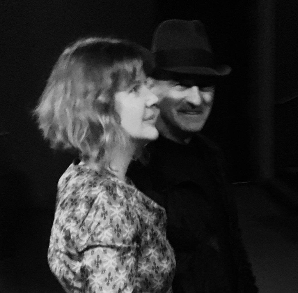 Stelarc and Nina Sellers