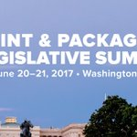Image for the Tweet beginning: Print and Packaging Legislative Summit