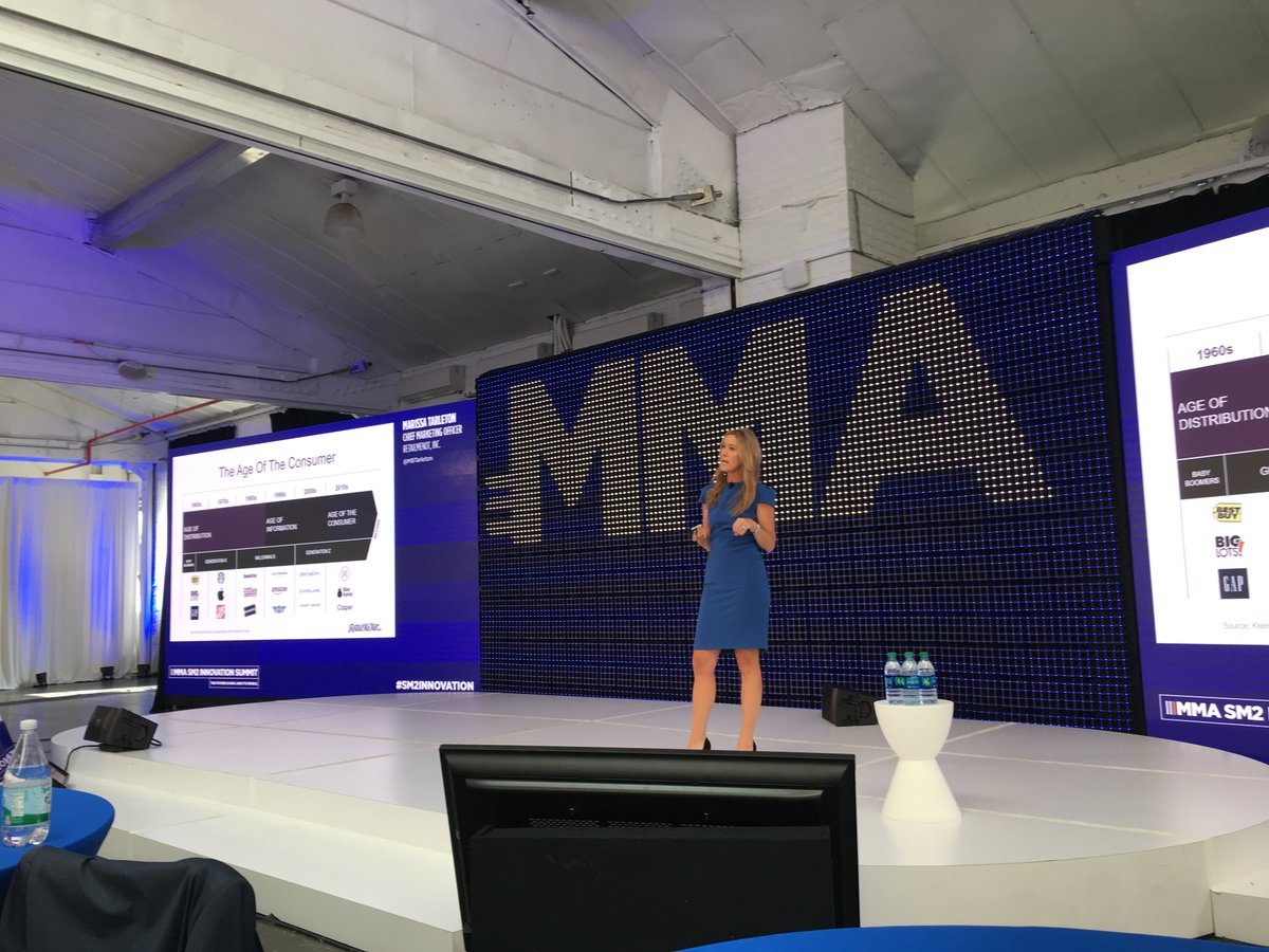 RetailMeNot CMO, @MBTarleton speaking on the importance of immediacy, convenience and consistency in the age of the consumer. #SM2innovation <br>http://pic.twitter.com/E8iW2AohYn