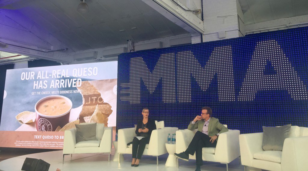 Thanks to Chipotle&#39;s Kam Bozich and the @MMAglobal #SM2Innovation conference - for a great day! <br>http://pic.twitter.com/0InvgR3QkM