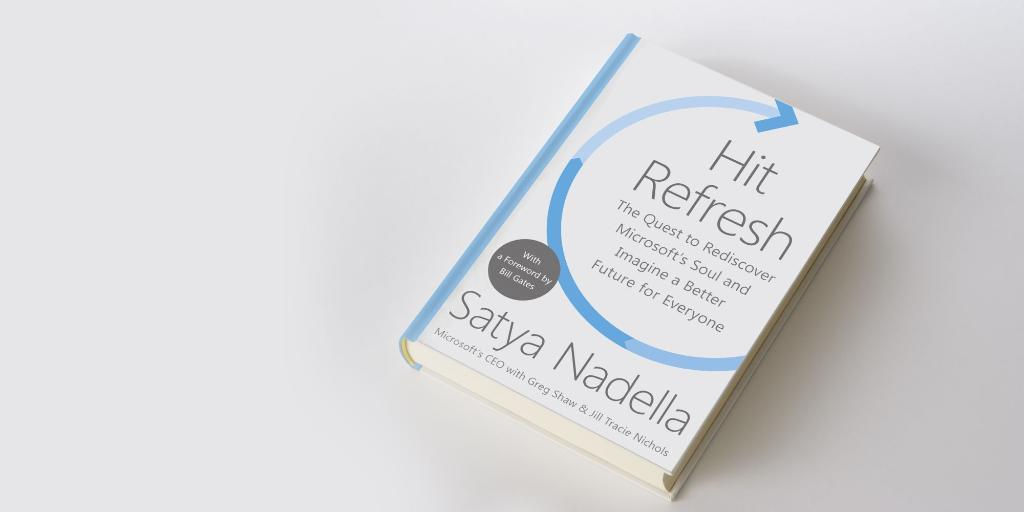 """Hey, MVPs: Hit refresh in your email for some great news regarding #HitRefresh, the new book from @SatyaNadella"""" https://t.co/HvLJ1K1TlZ"""