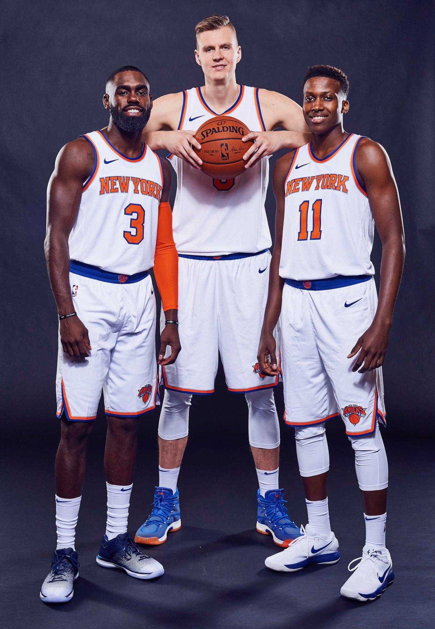 "Nba Basketball New York Knicks: NBA On Twitter: ""The @nyknicks Are Back! #NBAMediaDay…"