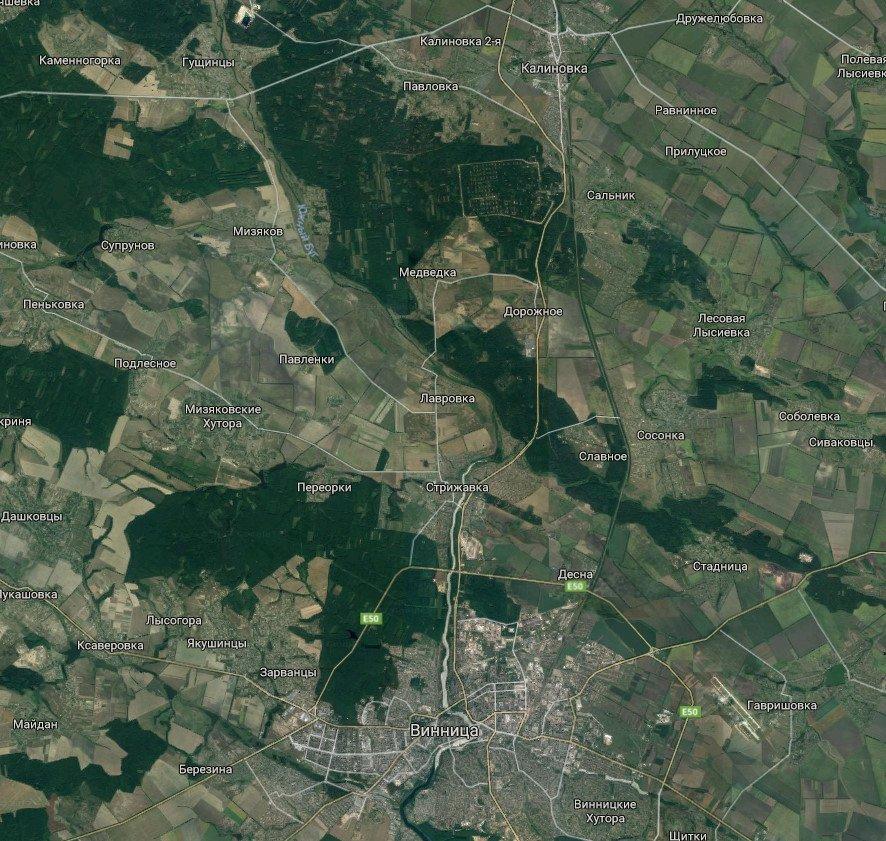 Расстояние по карте от точки до точки в спб