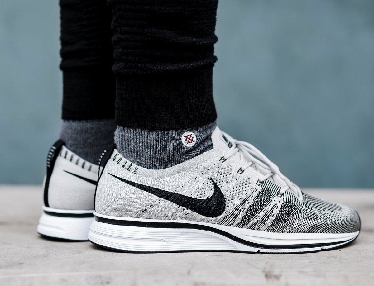 98487fc59762 ... inexpensive sneaker shouts on twitter restock nike flyknit trainer pale  grey with free shipping no tax
