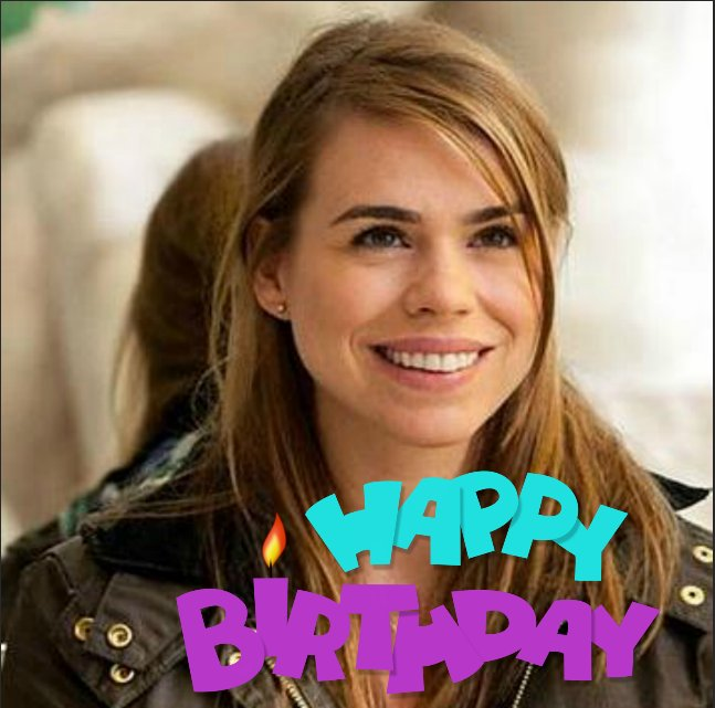 Happy Belated Birthday to Billie Piper Sept 22