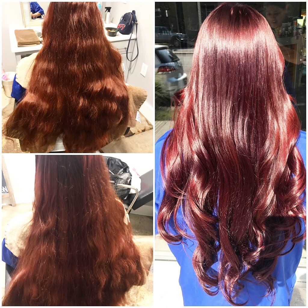 Thairapy Salon Spa On Twitter Transformed Dull Redcopper Tone2